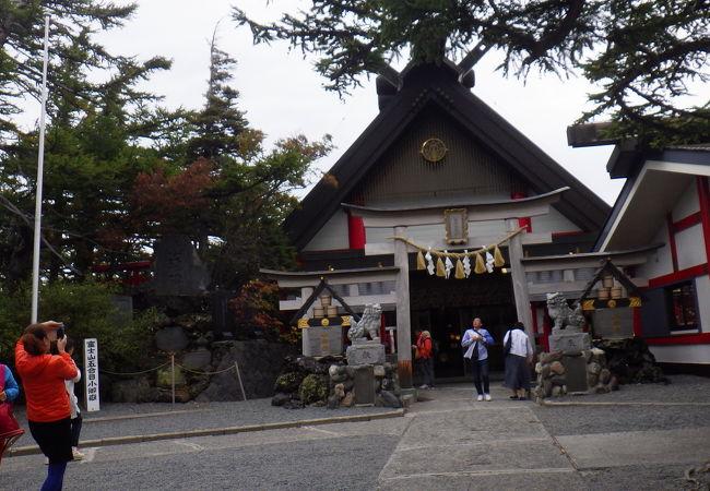富士山登山者の守護神