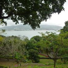 紅毛城から見る風景