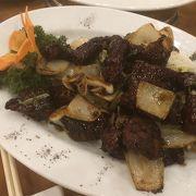 バリ島の中華料理店。