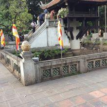一柱寺の建物