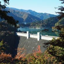 想像以上に大きなダム