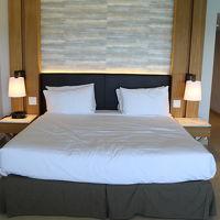 広々としたベッド