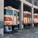 津山まなびの鉄道館 (旧津山扇形機関車庫)