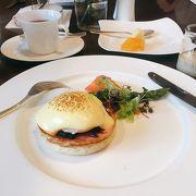 満足度の高い朝食ビュッフェ