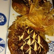 椎茸の焼き物
