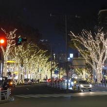 原宿駅から来て直ぐの光景