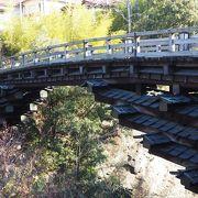 あの広重も描いた日本三奇橋の一つの猿橋
