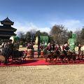 国宝松本城新春開門式