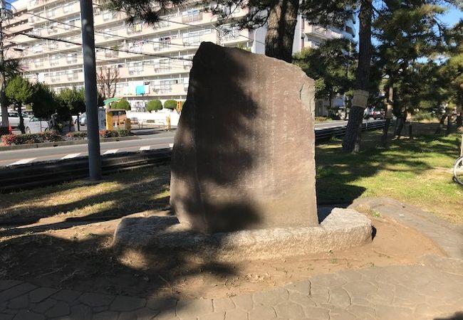 松尾芭蕉文学碑