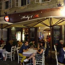 スロベニア料理を堪能できるレストラン