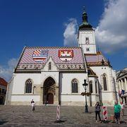 ザグレブ一番の観光地