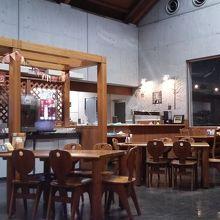 イベント会場の一角にあるレストラン「麦の楽園」