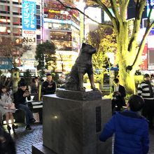 渋谷の待ち合わせスポット