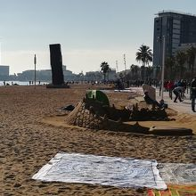 冬でも砂遊びくらいならできますよ