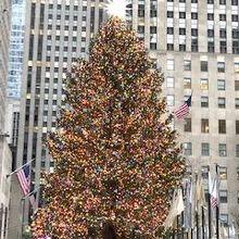 ロックフェラーセンタークリスマスツリー