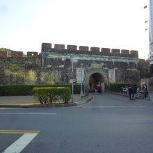 鳳山県旧城:北門の拱辰門