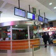 クレジットカードが使えない@モロッコ国鉄ONCFのカサブランカ空港駅