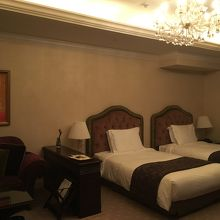 広い客室。