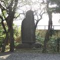 写真:中島歌子歌碑