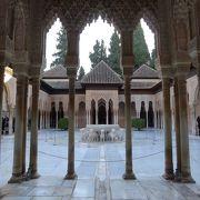 冬でも素敵なアルハンブラ宮殿
