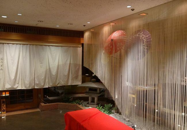 銀座グランドホテルが目印です。場所はB1です。