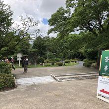 名古屋城 二之丸広場