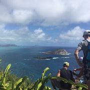 素晴らしい景観の岬