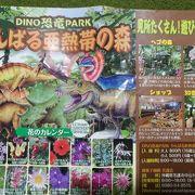 お菓子御殿とDINO恐竜PARK