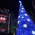 写真:中環のクリスマスイルミネーション