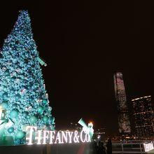 ティファニーのツリーが素敵でした
