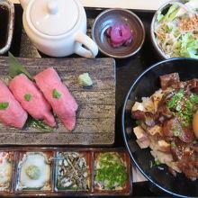 和牛ひつまぶし&ミニ寿司セット