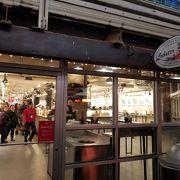 有名なロブスター料理の店