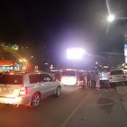 夜のシヴォタ通り