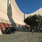 (香港文化センター)記念撮影スポットには良い所になっていました。