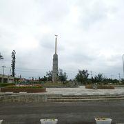 石垣市街地北部の大きな総合運動公園