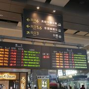 大きな新幹線駅