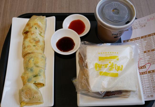 肉蛋吐司中西式早餐店