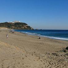愛知県では一番美しい浜ではないでしょうか