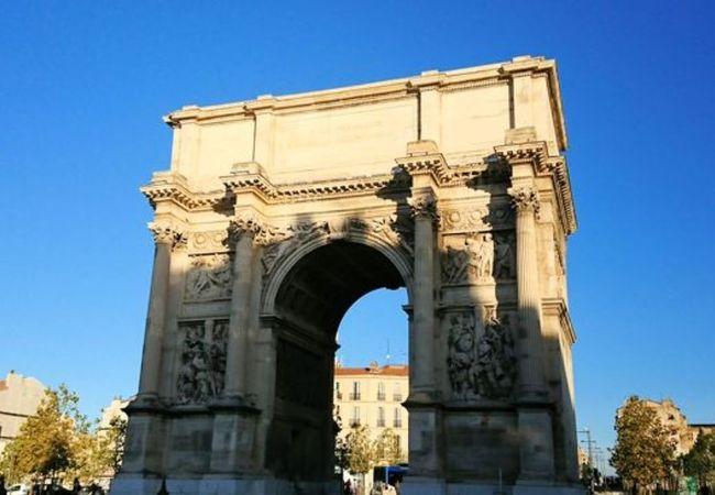 マルセイユの凱旋門