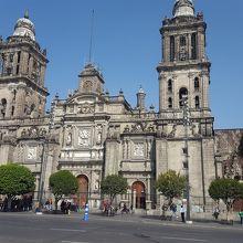 メキシコシティ メトロポリタン大聖堂
