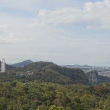 絶景展望台からの眺め
