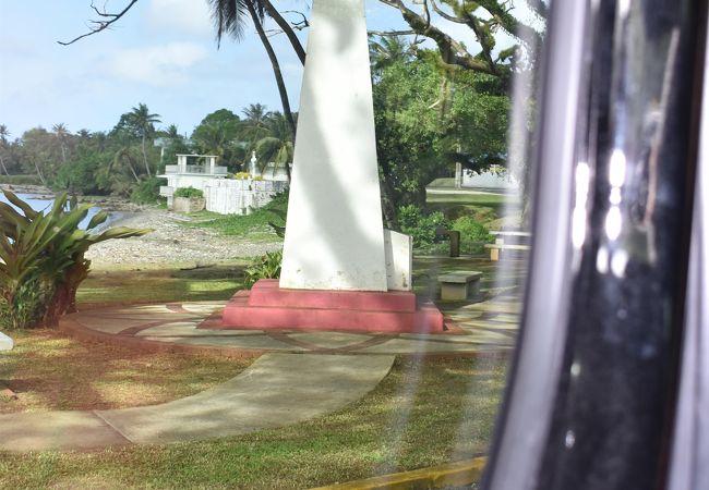 マゼラン上陸記念碑