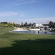 セントーサゴルフクラブにて訪島