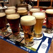 一度に10種類のビールが飲めるFullMap(18 C$)、ビール好きにはたまりません!