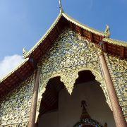 チェンマイで一番古いお寺です