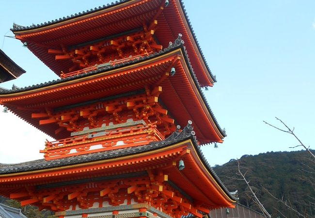 清水寺 三重塔