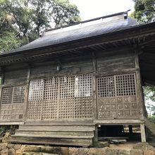 須須神社 金分宮