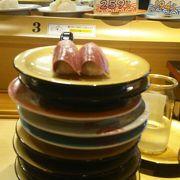 自分史上NO1回転寿司