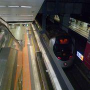 香港近郊郊外線西鐡線と東鐡線の発着駅