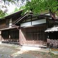 写真:栃本関所跡